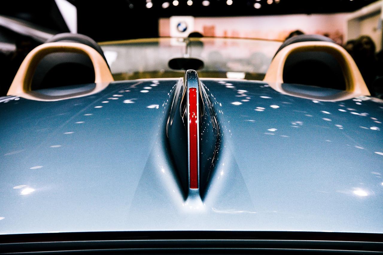 shiny car surface